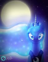 Luna's Moon by ScottFraser