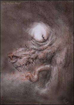Fenrir (drawing)