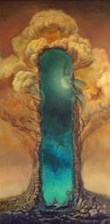 the throne of the depth II by Scheinlicht