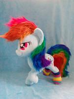 Floofy Rainbow Dash by AlexCreations