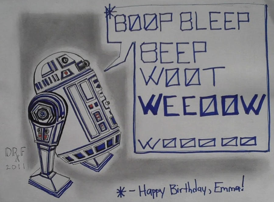 R2d2 birthday card by doctorfantastic on deviantart r2d2 birthday card by doctorfantastic bookmarktalkfo Choice Image