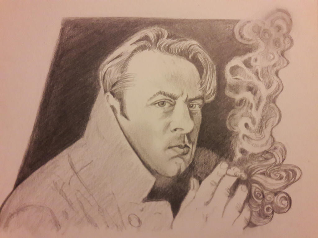 Christopher Hitchens by DoctorFantastic
