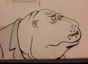 Dr. Dugong The Venture Bros Inktober Day 29