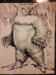 Bear Owl inks