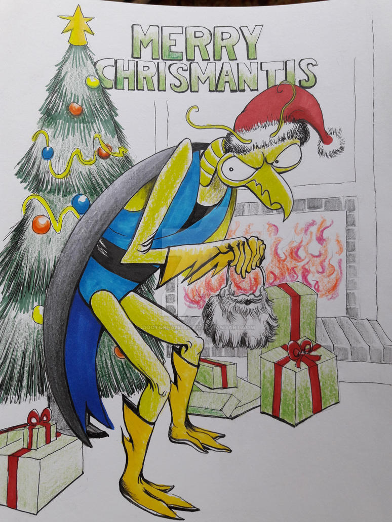 Merry Chrismantis 2018 by DoctorFantastic