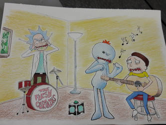 Rick and Morty Mr. Meeseeks Guitar Lesson