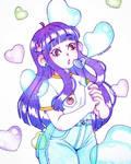 Heart Bubbles - Pencils