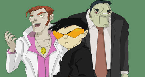 The Enforcers- Jackie Chan Adventures by Scoochshot