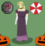 Dark Hand Halloween- Valmont as Alexia Ashford