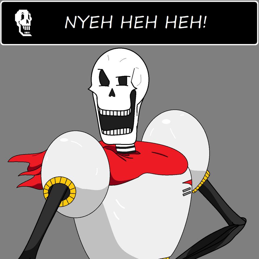 Undertale - Papyrus by Scoochshot