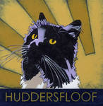 Felix the Huddersfield Station Cat- 'Huddersfloof' by JesmondCat