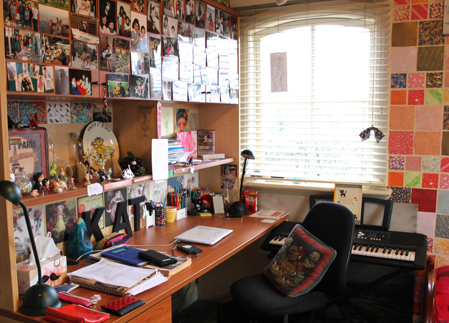 My Desk 2014 by katpann