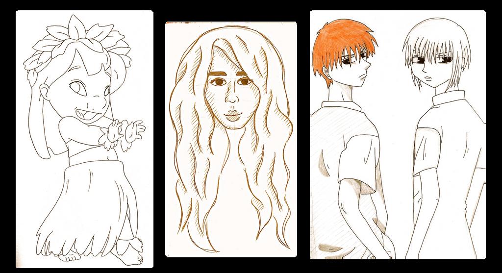 sketch dump nov2014 by katpann