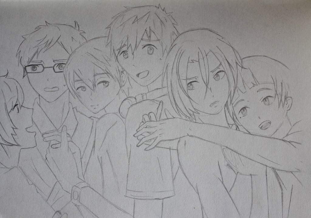 Free! sketch by katpann