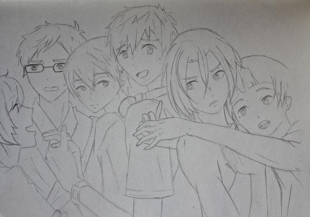 Free! sketch by katpann