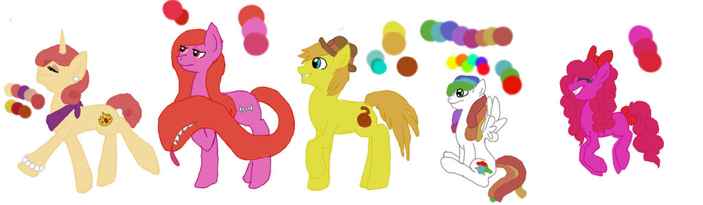 Adoptable set 2 by nubblebubble123