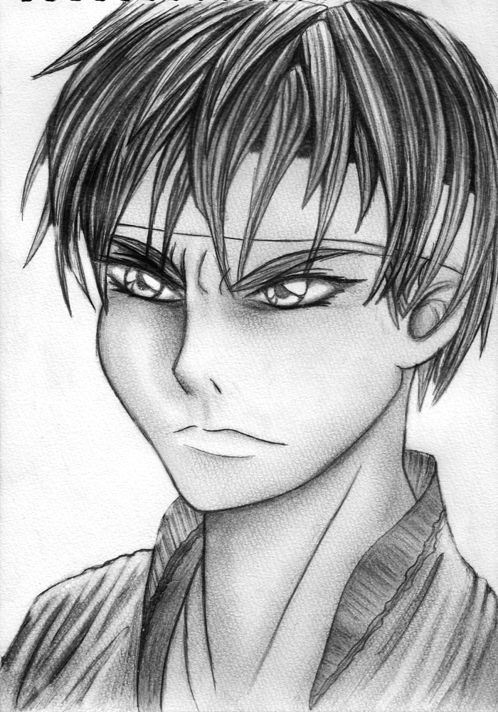 Kung Fury - Sketch by rekka-alexiel