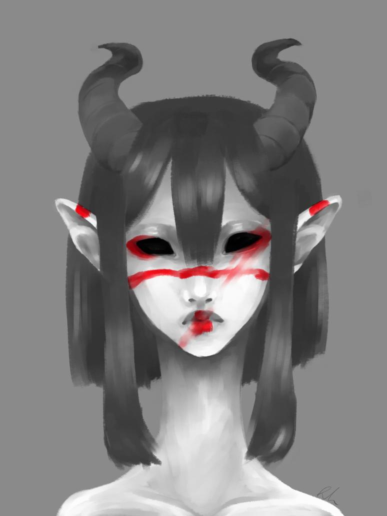 .:Lipstick over my face:. by Kizzzzziiiii