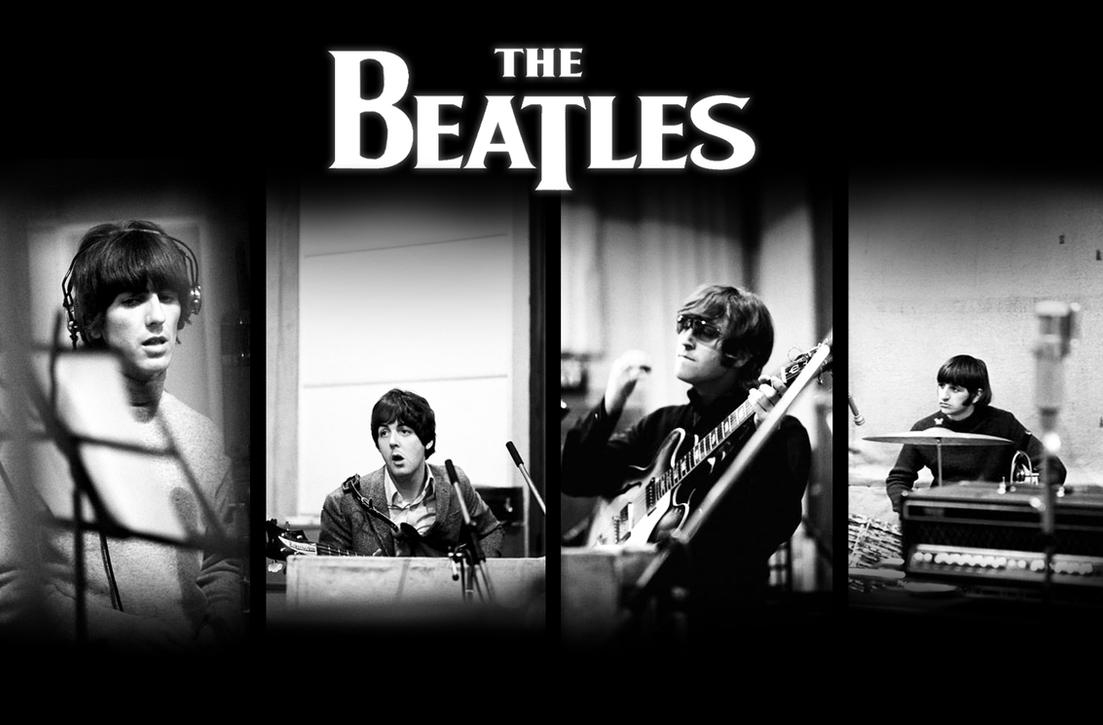 The beatles wallpaper original by conniechan on deviantart the beatles wallpaper original by conniechan voltagebd Choice Image