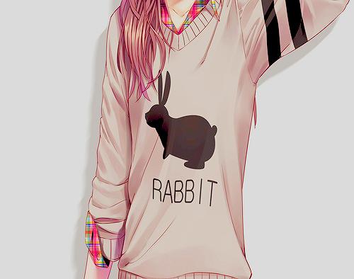 Tumblr Anime Girl By LilMissAkward