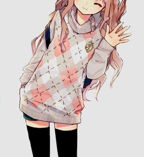 Tumblr Anime Girl 2 By LilMissAkward