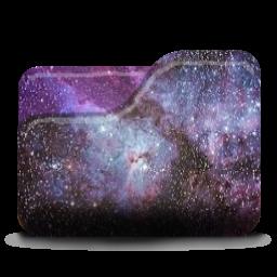 Custom Galaxy Folder Icon by LilMissAkward on DeviantArt