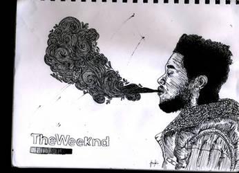 Weeknd *smoke* by Makorrafreak
