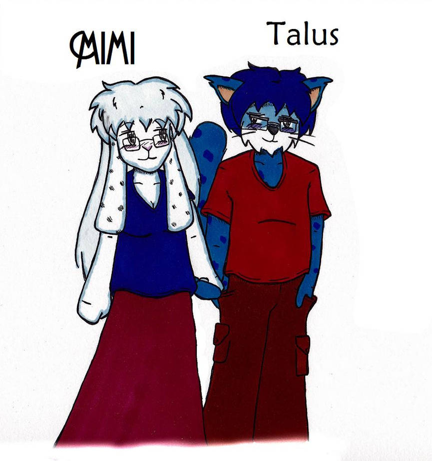 Mimi and Talus by Catboy-Trades