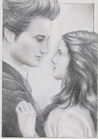 Edward and Bella by cristy201