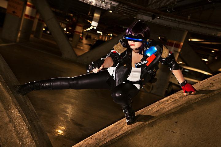 Cyberpunk Polizei by etaru