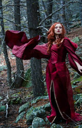 Melisandre the Red Woman by etaru