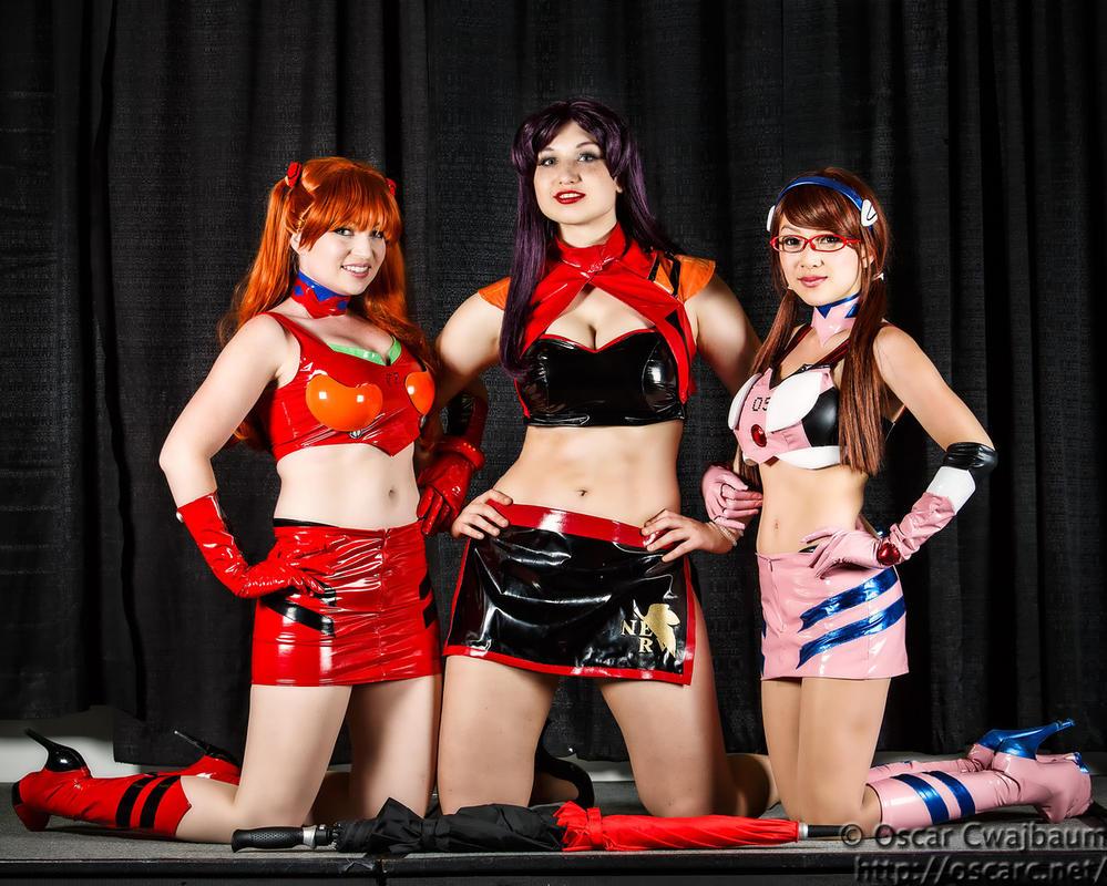 Evangelion Race Queens by etaru