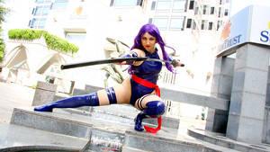 Psylocke - Butterfly on the Wind by etaru