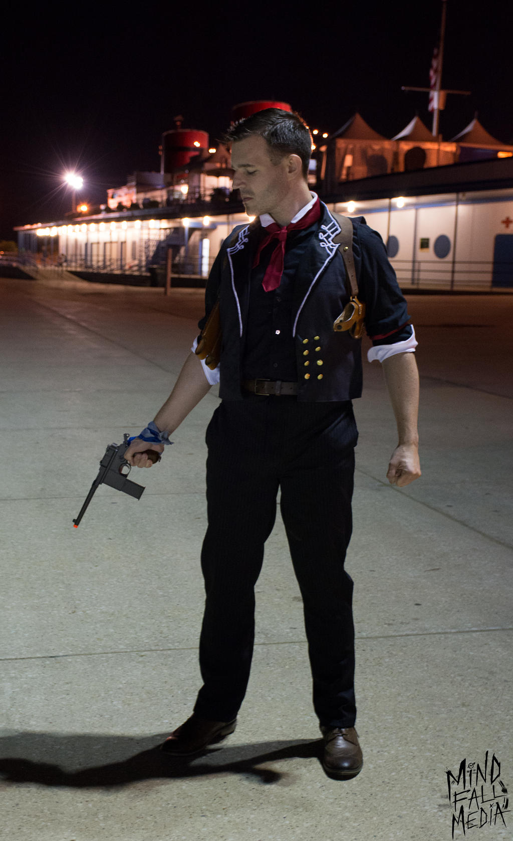 Bioshock Infinite -- Booker DeWitt -- by etaru