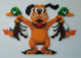 Duck Hunt Dog Perler Beads