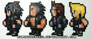 Final Fantasy XV Perler Bead