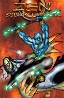 Zen   Bounty Hunter no.2 cover by billmausart