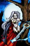 Lady Death by Bill Maus
