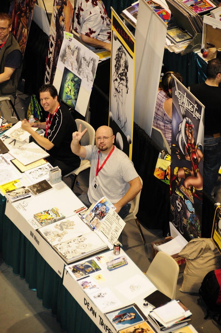 SDCC 2010  satellite view by billmausart