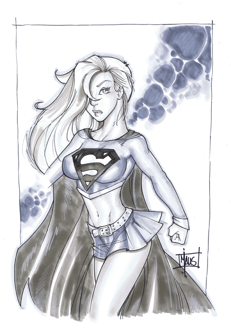 supergirl drawings comic - photo #17