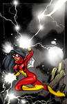 Spiderwoman commission by Maus