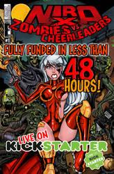 Nira-X Zombies vs Cheerleaders #1 Kickstarter!
