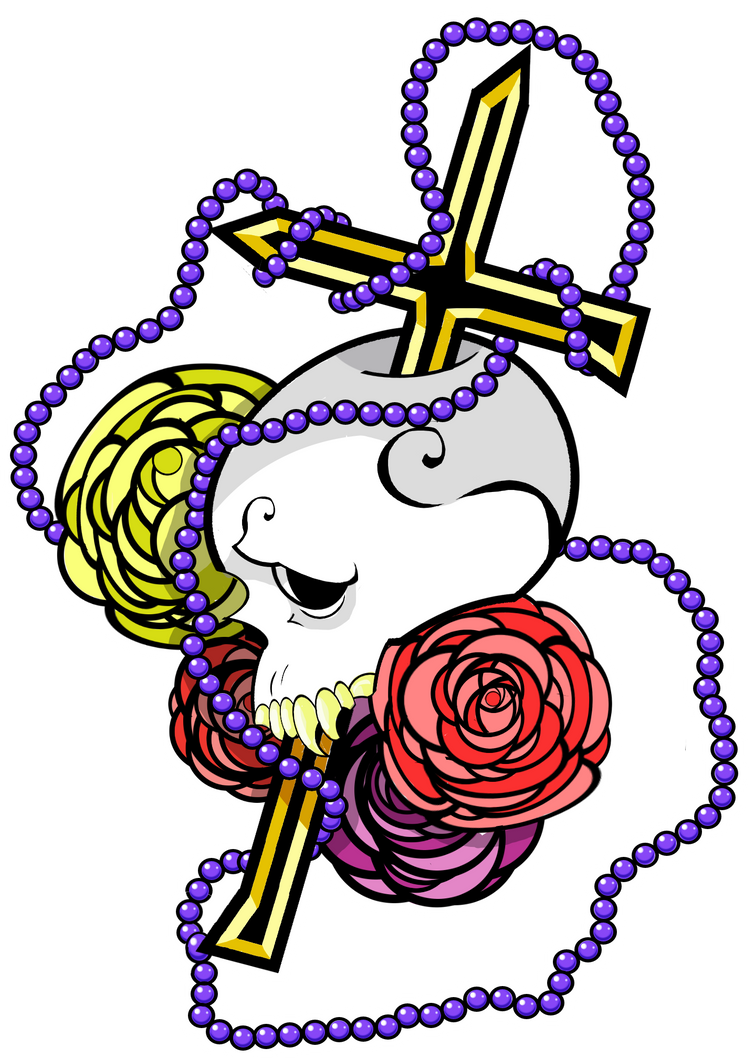 Vampire Hunter Tattoo Tshirt Design by Cuddlebunnieluv