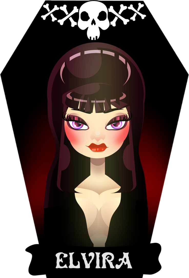 Gothicon: Elvira by Cuddlebunnieluv