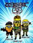 Co-exist - Grindcore Minions by ChaosAlexander