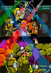Co-exist  - Grindcore Minions Grind again by ChaosAlexander
