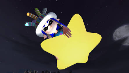 Make a wish (SFM Splatoon x Kirby version)
