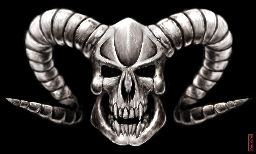 demon skull wallpaper - photo #26
