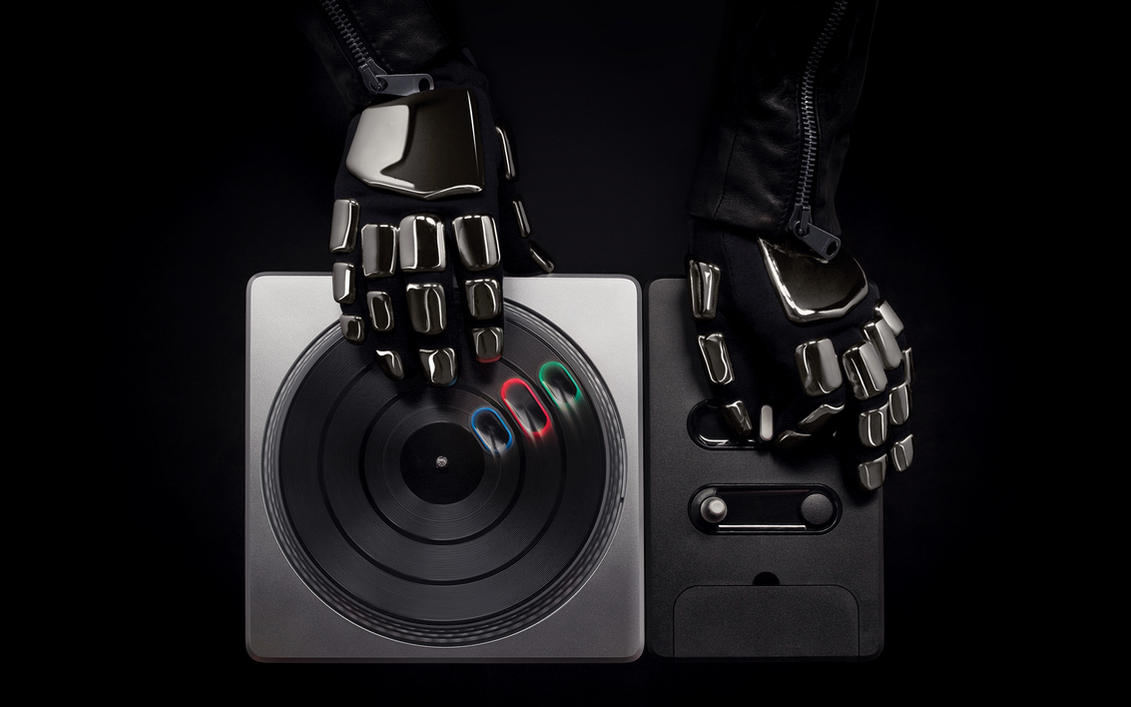 Daft Punk DJ Hero Wallpaper by SirRidley