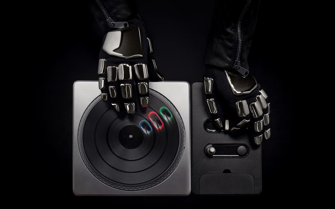 Daft Punk DJ Hero Wallpaper by SirRidley